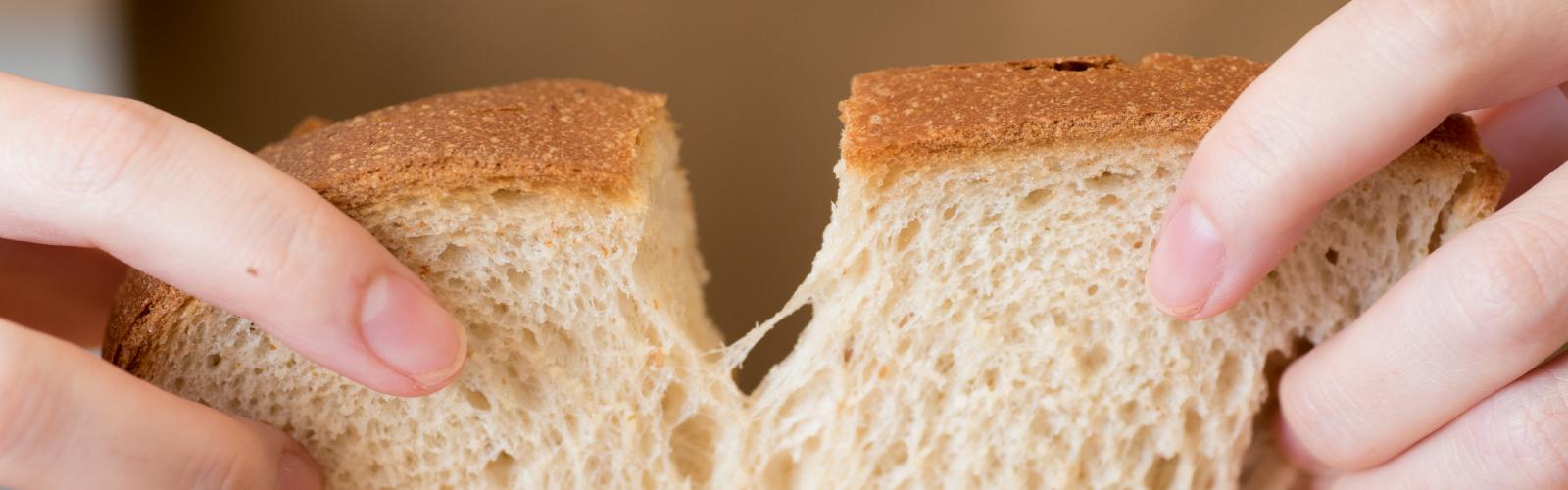 玄氣堂 玄米パン しっとり、ふんわり、もっちり。おいしく、腹持ちバツグンです。