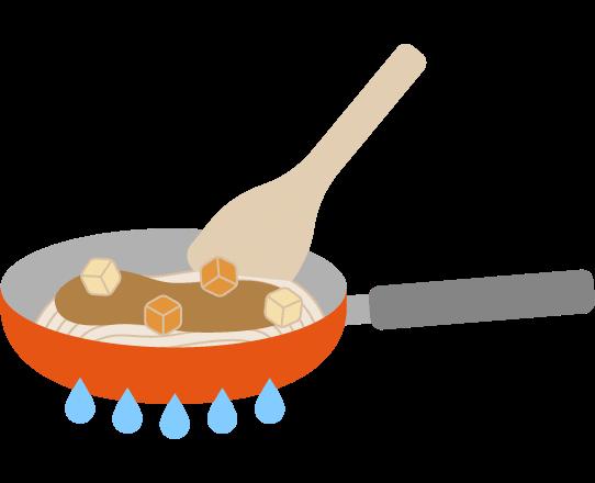 玄氣堂 玄米パスタのつくり方 調理する